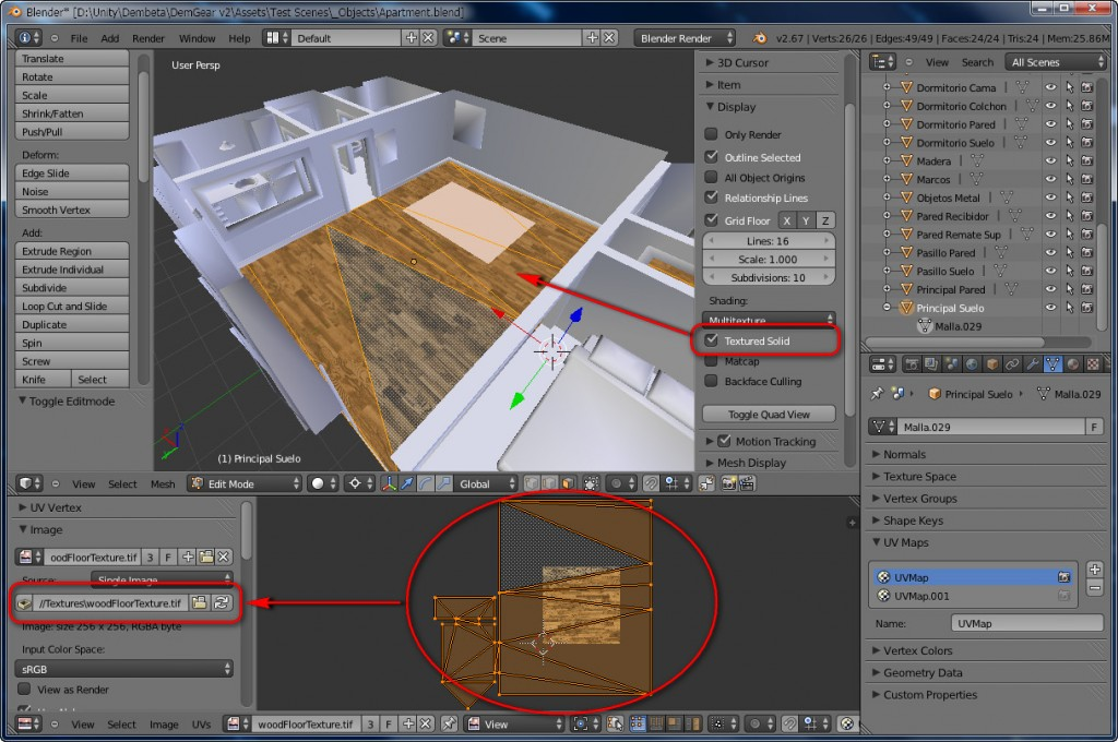 Blender To Unity3D Material Texture 2