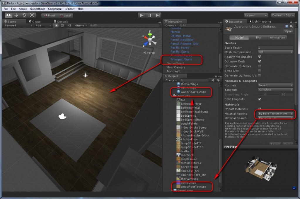 Blender To Unity3D Material Texture 3