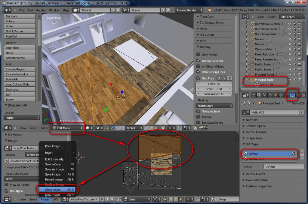 Blender To Unity3D Material Texture 4