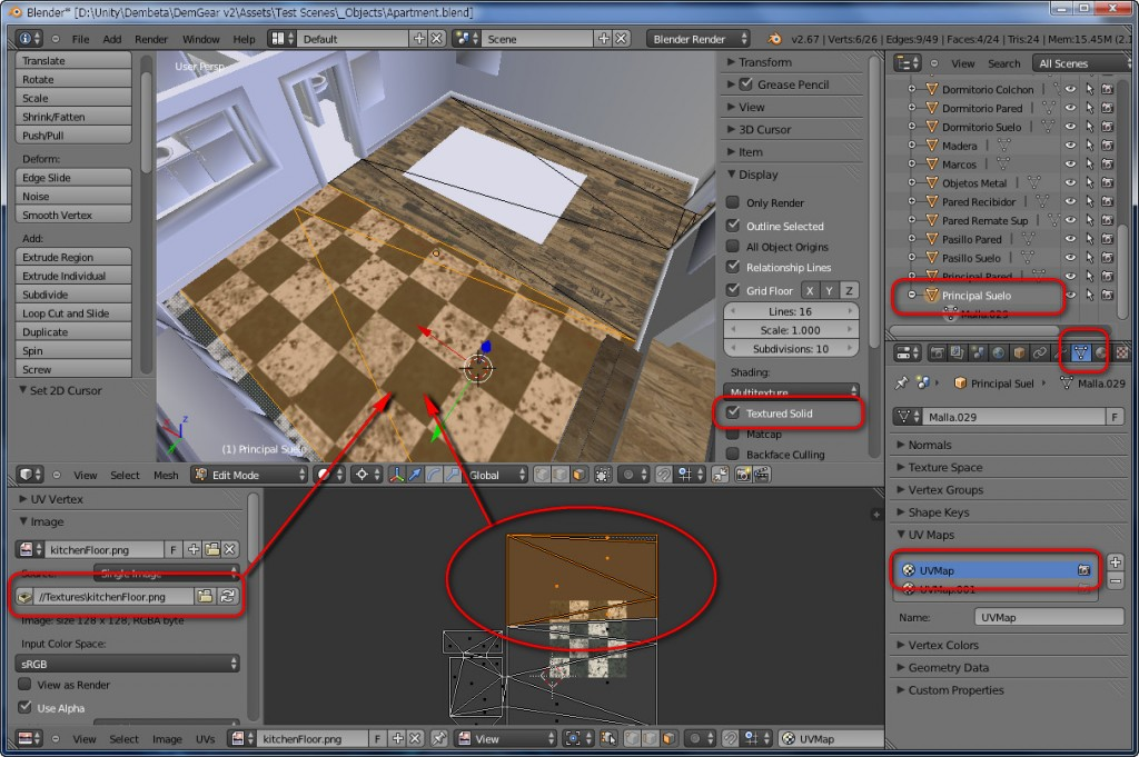 Blender To Unity3D Material Texture 5
