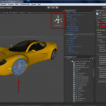GameObject imported in Unity 3D