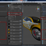 With and without mesh instance optimization